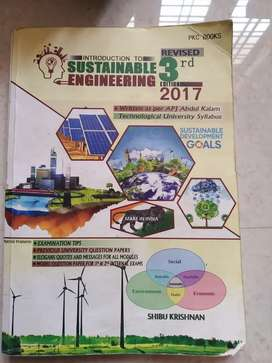 Introduction to sustainable engineering for ktu