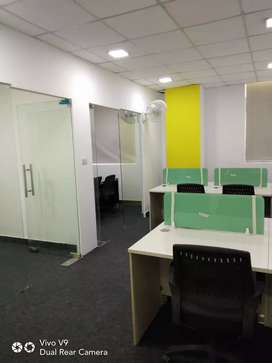75 workstations 4 cabin conference reception etc 4 rent in sec 63