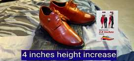 4 inches height increase high shoes for men
