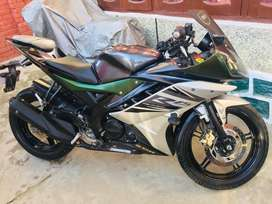 bike in new condition r15 v2