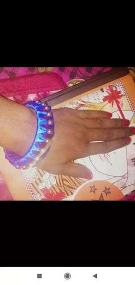 Silk trade bangles
