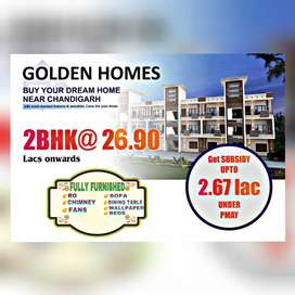 2BHK @26:90Lac Ready to Move Flats in Mohali