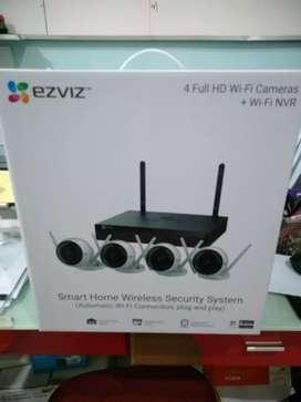 Kamera tanpa kabel paket ezviz