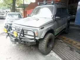 Suzuki Sidekick 1997 plat B pajak Mati winch