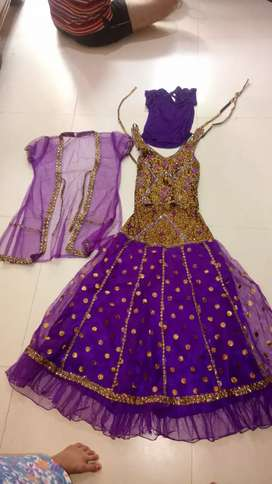 Lehnga choli for girls of 8-11 yrs