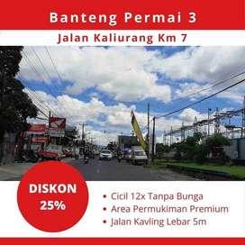 5 Menit Ke Hartono Mall, Kavling Kost Legalitas SHM Diskon 25%