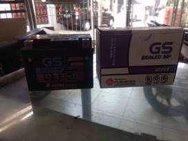 Aki Motor GS GTZ5S 3.5Ah Beat Fi Mio Vixion Vario Supra Scoopy