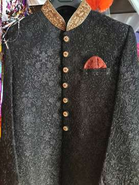 Sherwani for groom Bin Tayab brand...