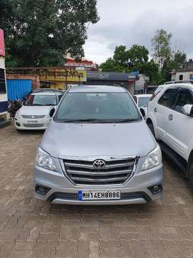 Toyota Innova 2.5 GX 8 STR BS-IV, 2014, Diesel