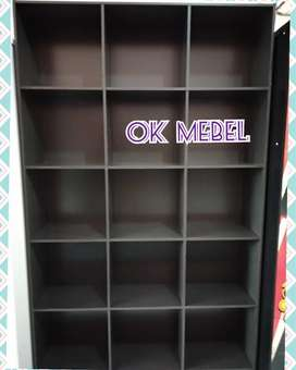 OK MEBEL. Rak/Lemari Laundry, Loundry, Arsip, Kantor, Buku, Pajangan