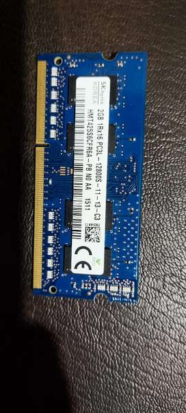 2Gb DDR 3 RAM is for Sale