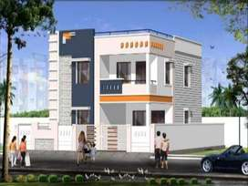 hmda new independent house 3bhk for sale