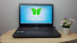 Laptop Asus ROG G751 Intel Core i7 Hasswel Dual VGA Game PUBG LITE