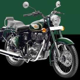 Bullet forest green 500 cc with dual disc 2019 model for sale
