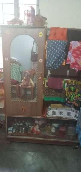 Alna ,1 door wardrobe+showcase+hanger,1.5years, handmade