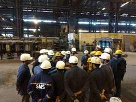 Maintenance Technician for steel plant