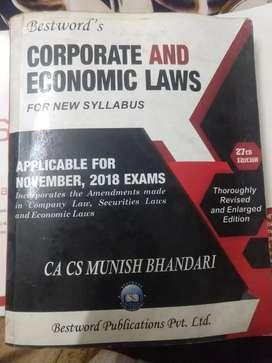 Corporate & Economics Laws by CA Munish Bhandari