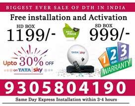 TATA SKY Lowest price in India Guarantteed