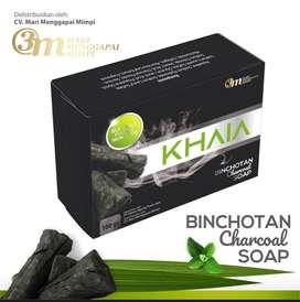 KHAIA charcoal soap