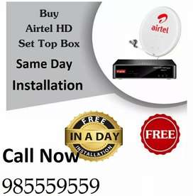 Tata Sky and Airtel DTH connection free Installation & free Delivery