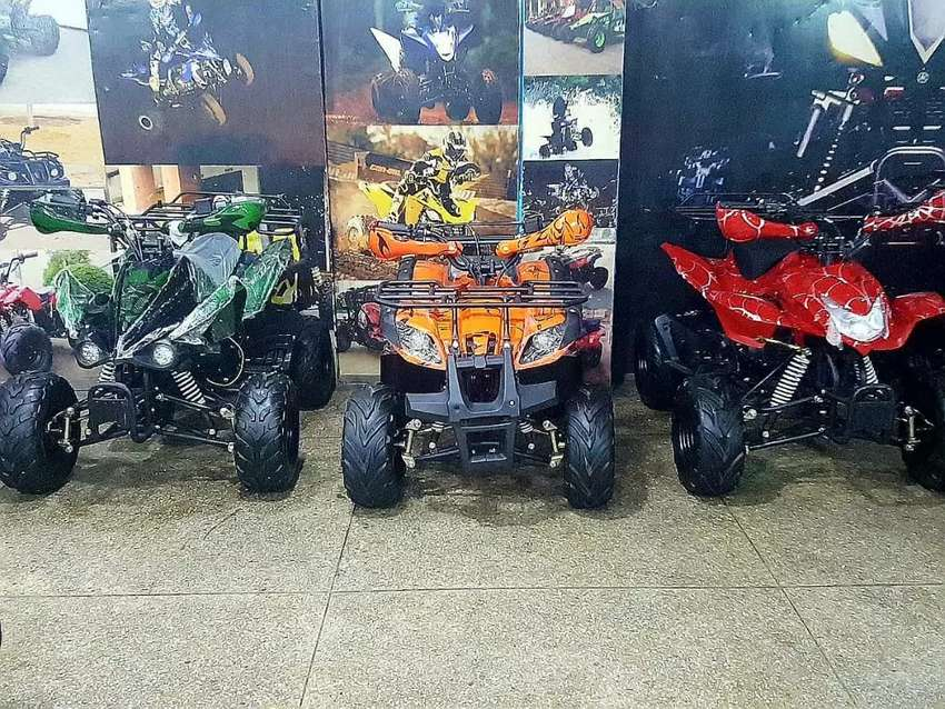 Fully sports model of Quad 125cc atv bike available 4 sell deliver PAK 0