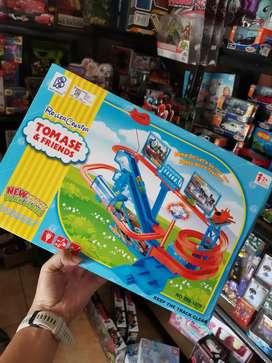 Thomas train kereta track roller coaster