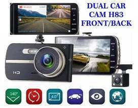 DUAL CAR DVR DASH CAMERA FRONT BACK CAM DAY NIGHT FHD LENS SLIM STYLE