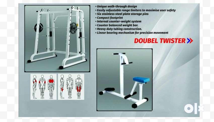 gym setup high class setup commercial 0