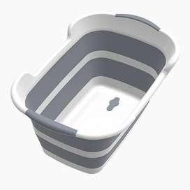 BATHE PROJECT Bak Mandi Bayi Lipat Foldable Baby Bathtub 60 x 40CM