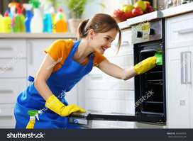 Direct joining No hidden charges urgent hiring for female Maid  cook..