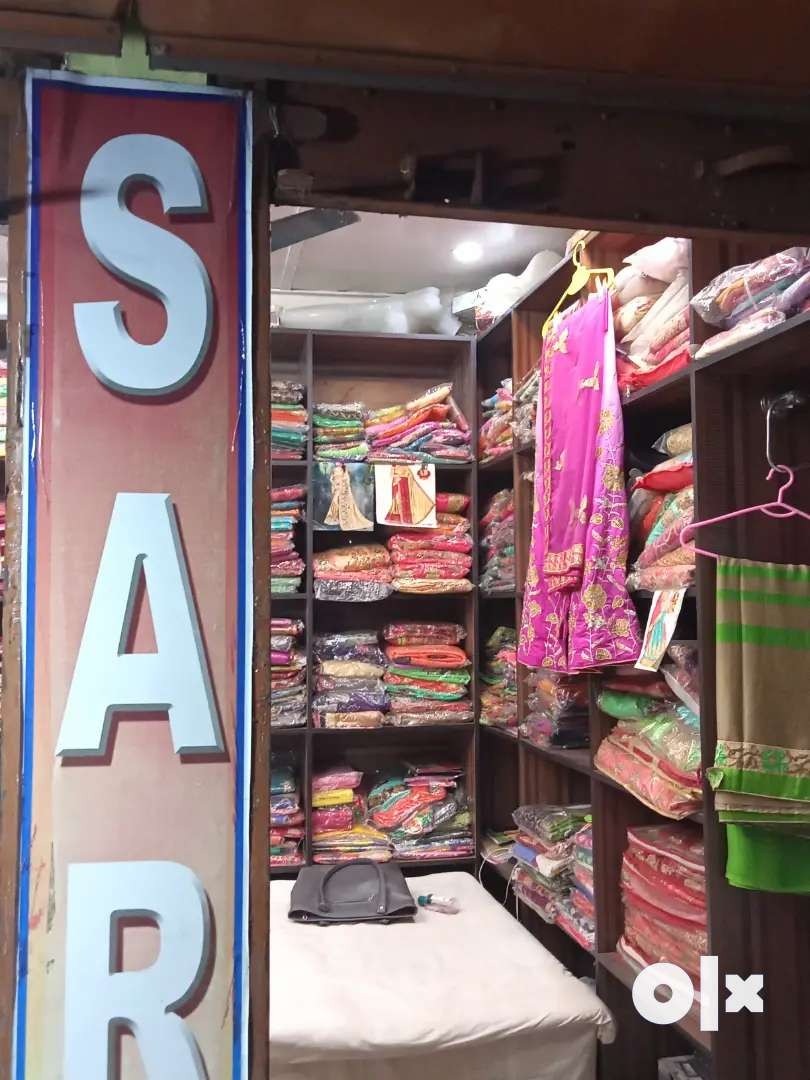 ready garment saree shop at maligaon for sale. rent 4k.deposite.1.7lkh 0