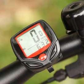 Spedometer Sepeda Digital LCD Display Waterproof Sepeda Gunung/ sepeda