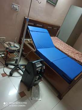hospital bed icu bed recliner bed on rent