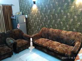 A Complete Sofa Set with Centre Table