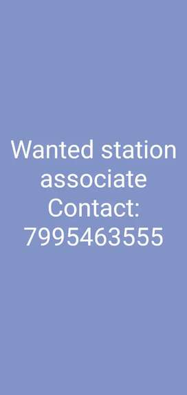 Wanted station associate in kukatpally