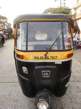 Bajaj auto rickshaw paper work clear vikne aahe