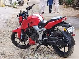 TVS Apache RTR 160 4V 2018 Well Maintained