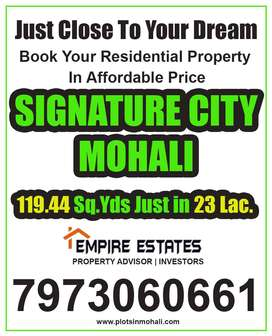 119 Gaj Residential Plot For Sale in Signature City Mohali