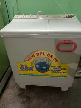 BPL 5 kg semi automatic washing machine