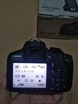 Dijual Kamera Canon 1300d