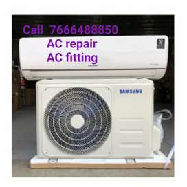 AC repair AC installation AC uninstallation technician contact AC gas