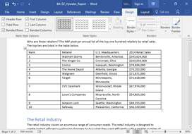 Online Assignments on MS World,Excel and PowerPoint