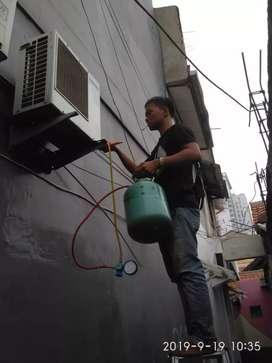 Service AC,Bongkar Pasang AC, Mesin Cuci,Kulkas
