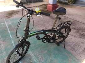 Sepeda lipat pemakaian 2 minggu