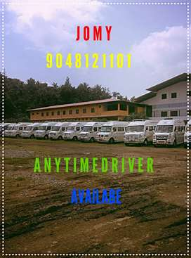 Any time taxy & driver available please call