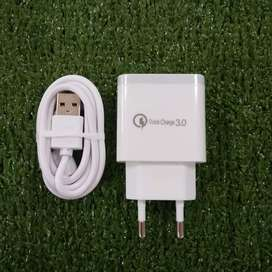 ADAPTOR + USB C XIAOMI QC 3A