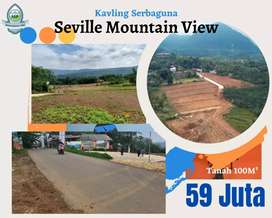 Dijual Tanah murah kavling Seville Mountain view