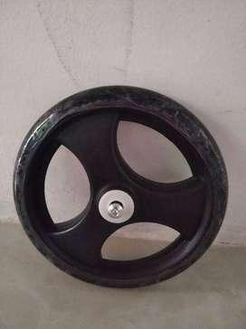 Roda depan kecil untuk kursi roda