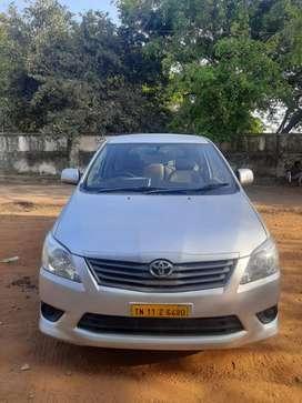 Toyota Innova 2.5 G (Diesel) 7 Seater, 2012, Diesel
