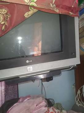 Lg TV 21 inches with woofer